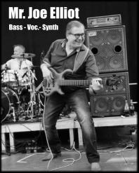 Mr. Joe Elliot Bass - Voc.- Synth
